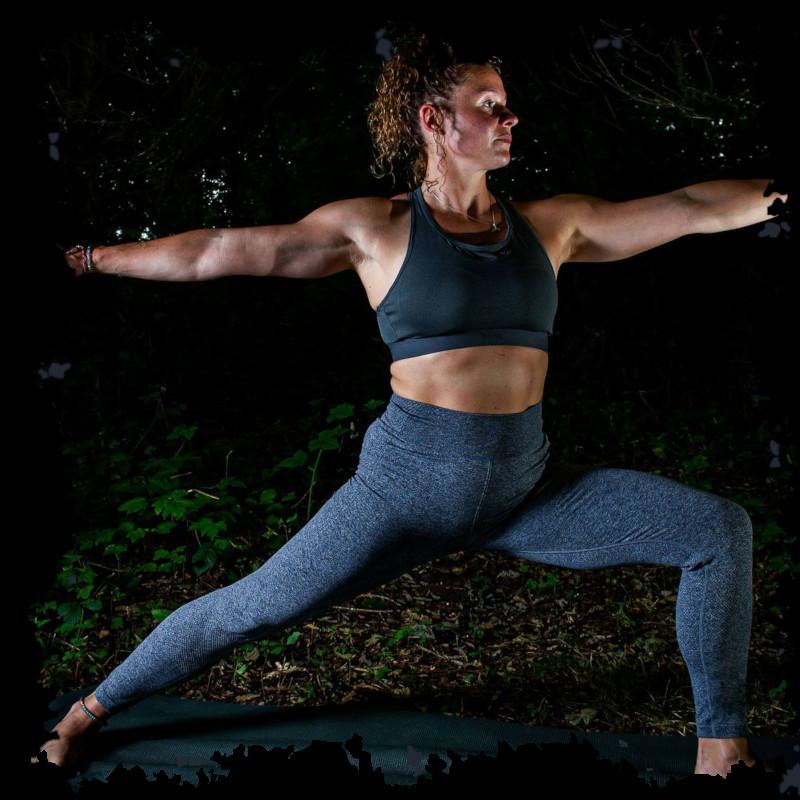Power Vinyasa Yoga Class Burton